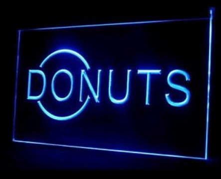 Donuts Cafe LED Neon Sign